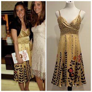 TED BAKER Latifah dress Pippa Middleton sz 2 & 8